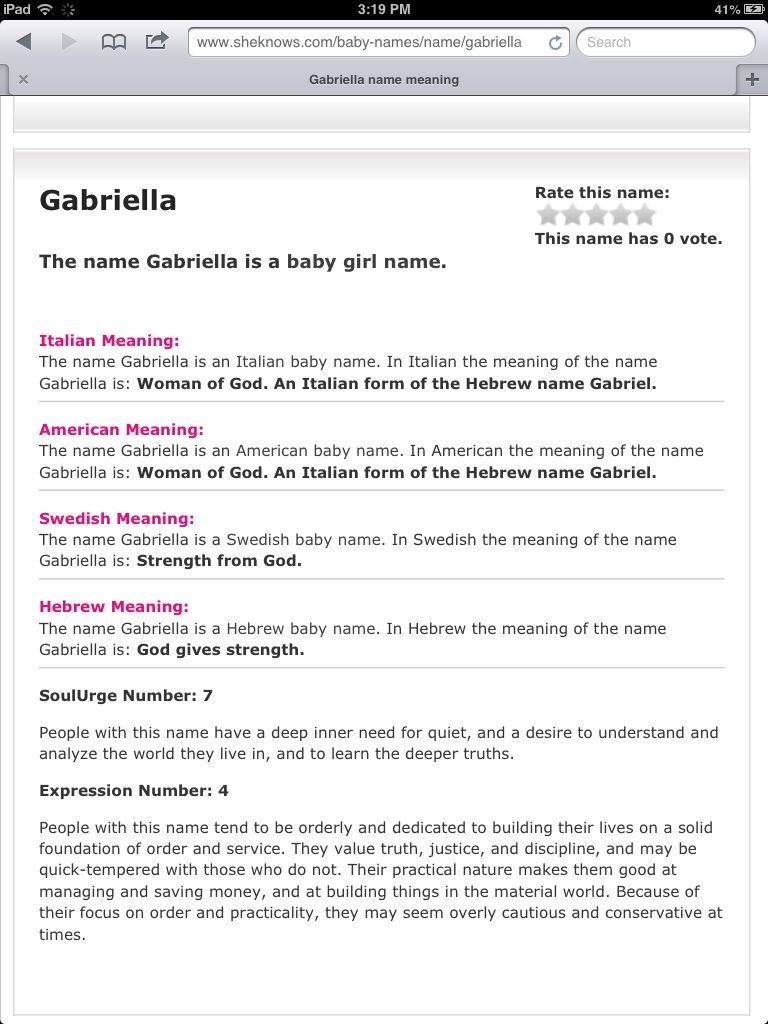 Meaning of my name of course am a goddess