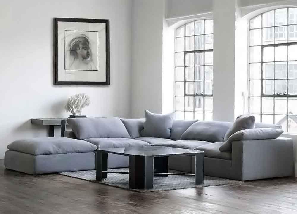 Extra Deep Sofa Down Sofa Luxury Sectional Cozylivingroom