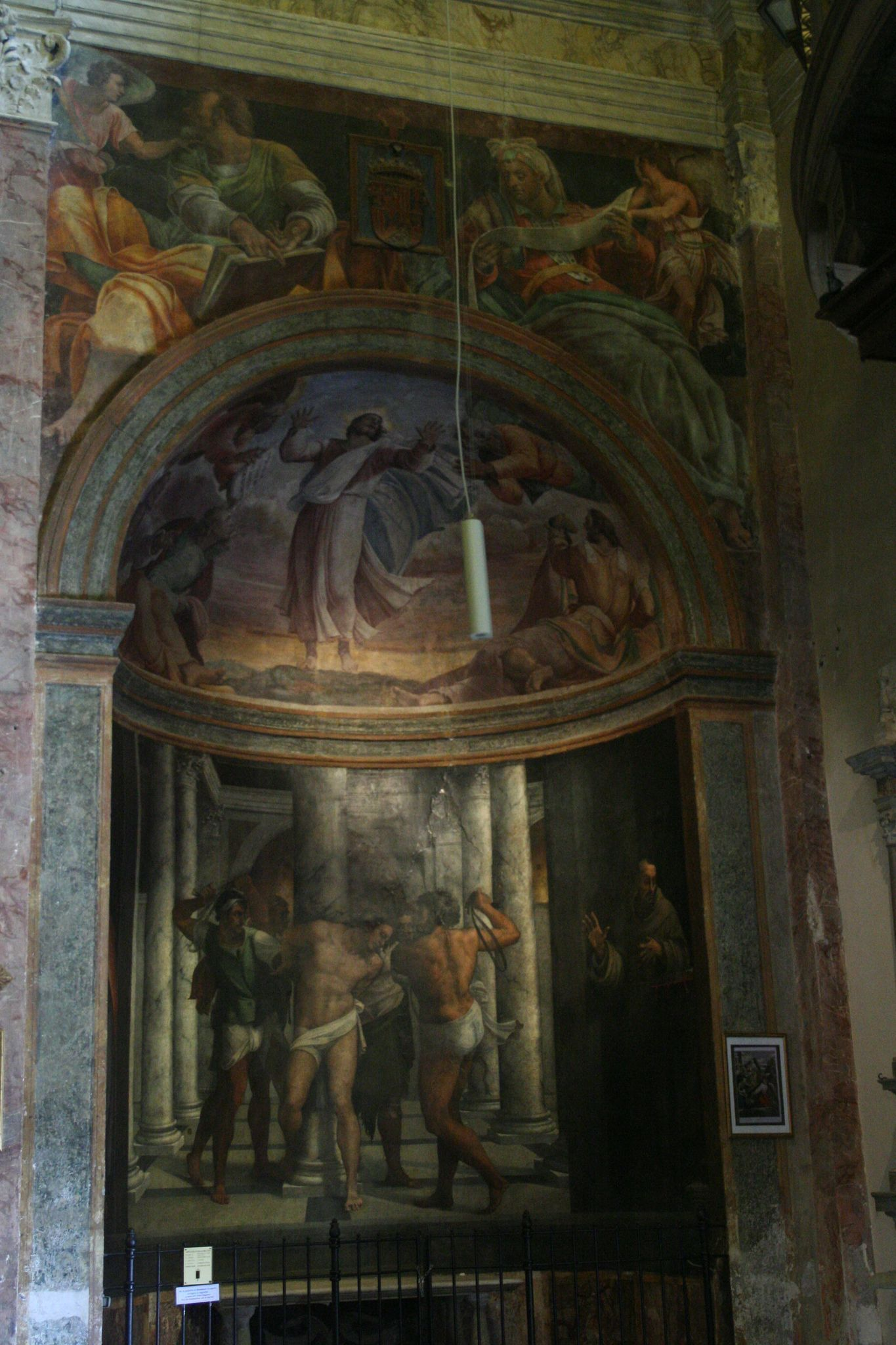 San Pietro In Montorio Rome Chapel Of The Flagellation
