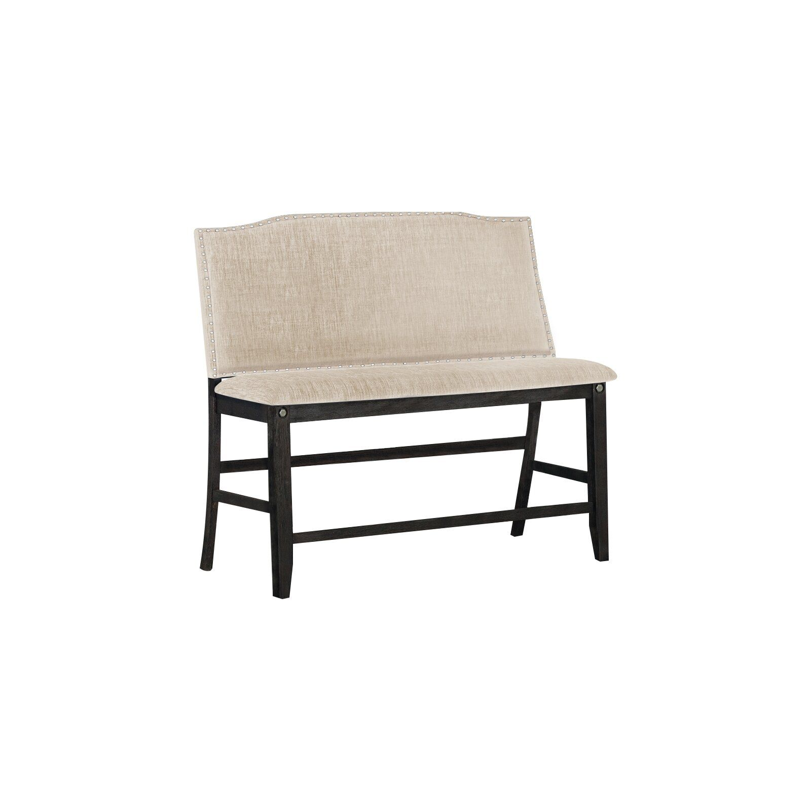 Darby Home Co Dylan Counter Height Upholstered Bench Wayfair Upholstered Dining Bench Upholstered Storage Bench Upholstered Bench