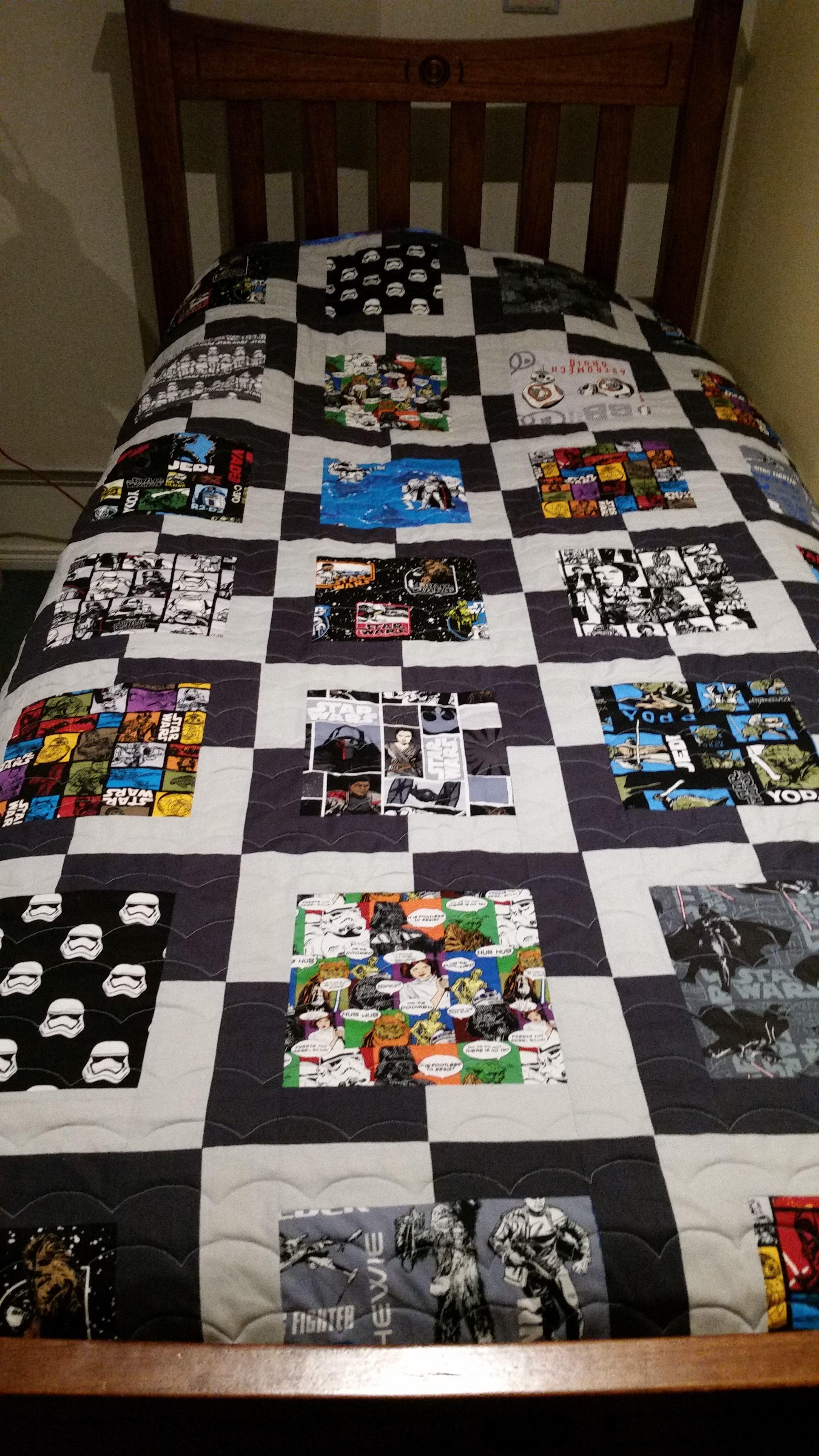 Star Wars Quilt Pattern By Jedi Craft Girl Star Wars Quilt