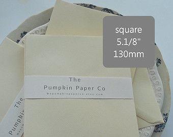 50 Quadrat Umschläge Creme Elfenbein Leinen Papier, Hochzeit Einladungskarte  Umschläge, Karten Diy Grußkarte