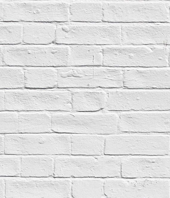 WHITE BRICK Removable Wall Mural For more wallpaper designs