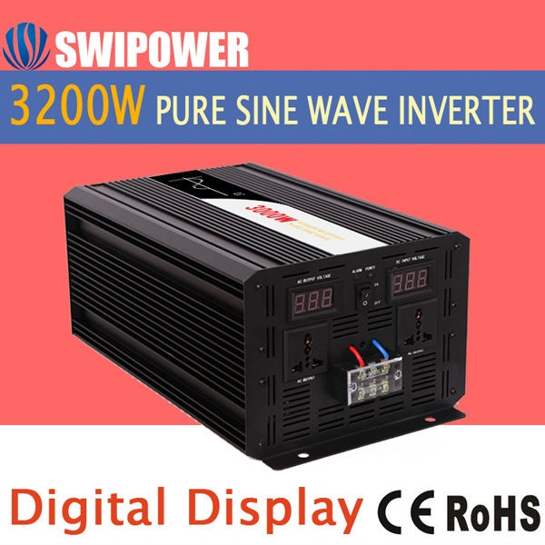 330.00$  Watch here - http://ali0cz.shopchina.info/go.php?t=32694903320 - power inverter 3200w pure sine wave  #buychinaproducts