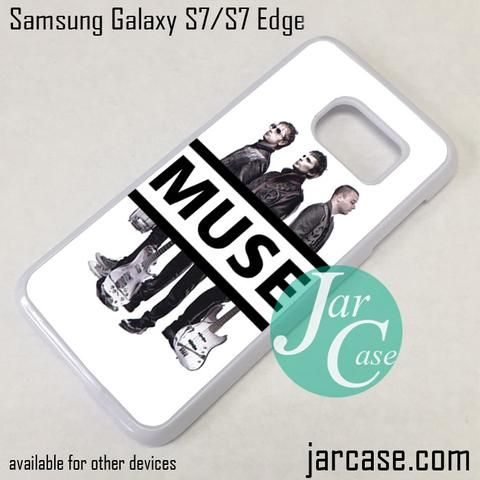 Muse Band Phone Case for Samsung Galaxy S7 & S7 Edge