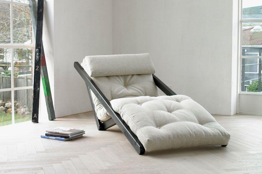 Grossansicht Sessel Weiß Möbel Für Kleine Räume Futon