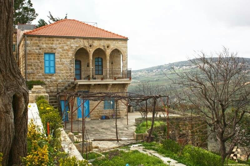 Old Lebanese Architecture Architecture Traditional Architecture Traditional Houses Traditional lebanese house plan