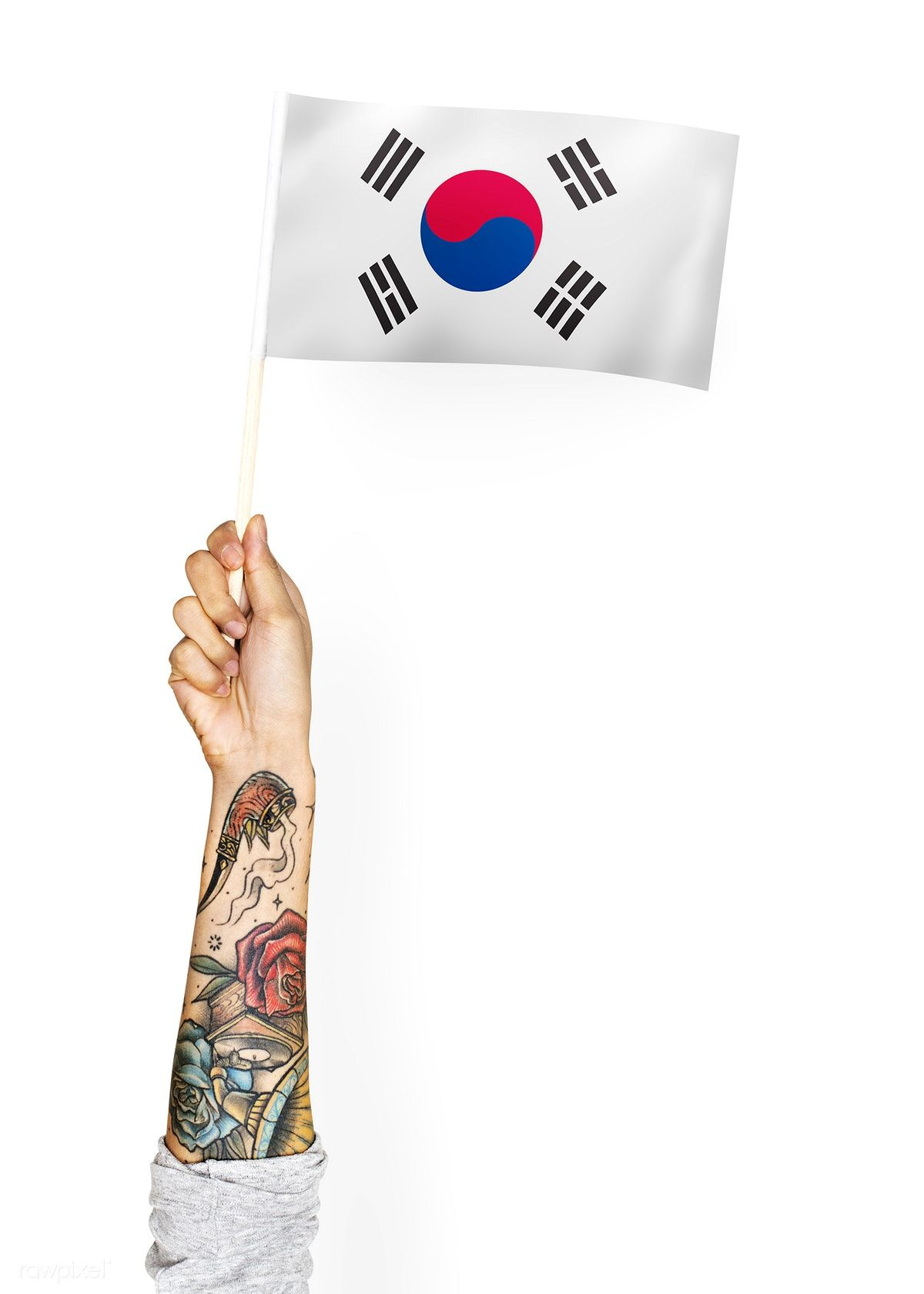 Person Waving The Flag Of South Korea Free Image By Rawpixel Com Flags Of The World Photo Korea