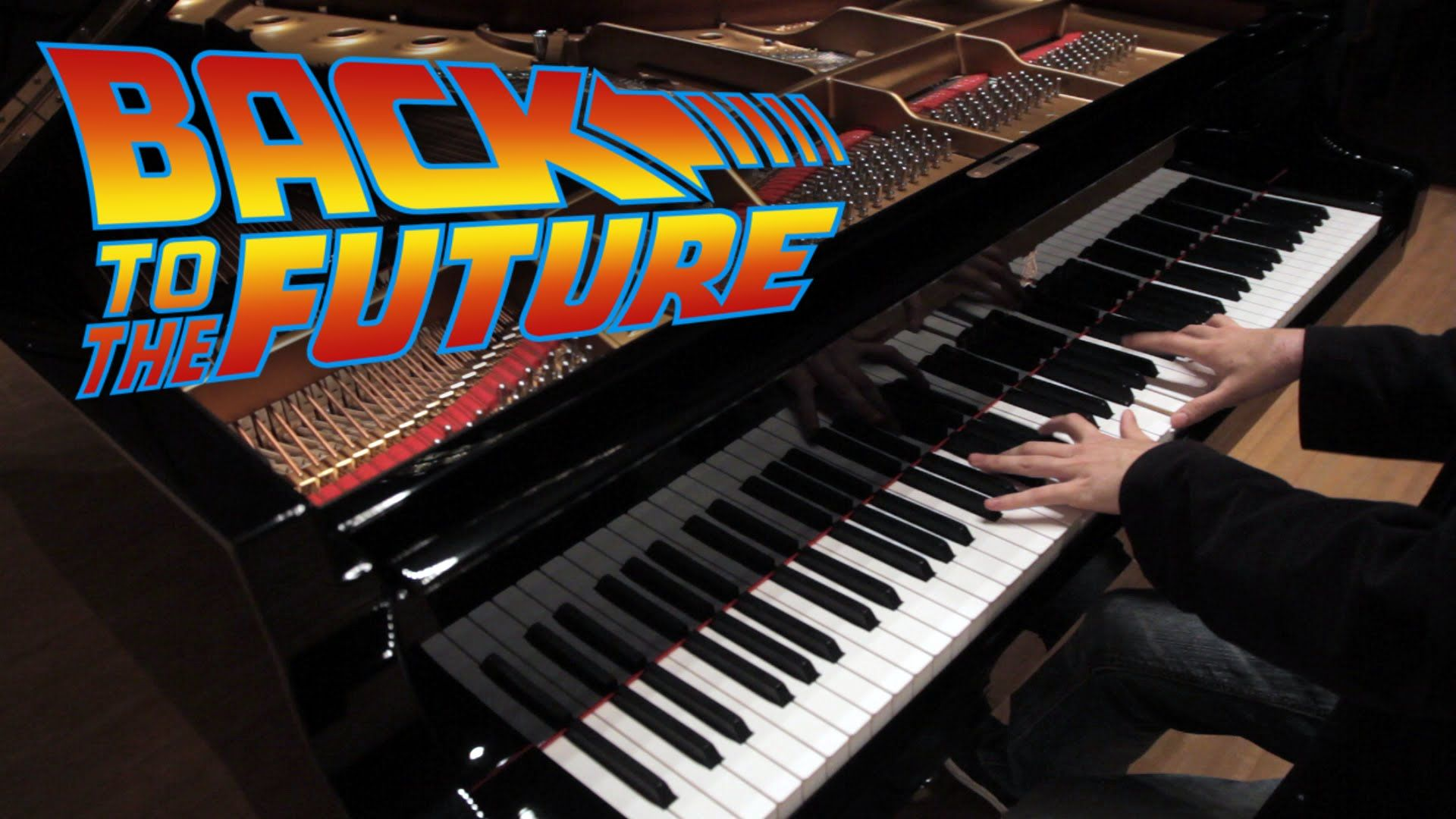 Back to the Future Medley - Epic Piano Solo | Léiki Uëda