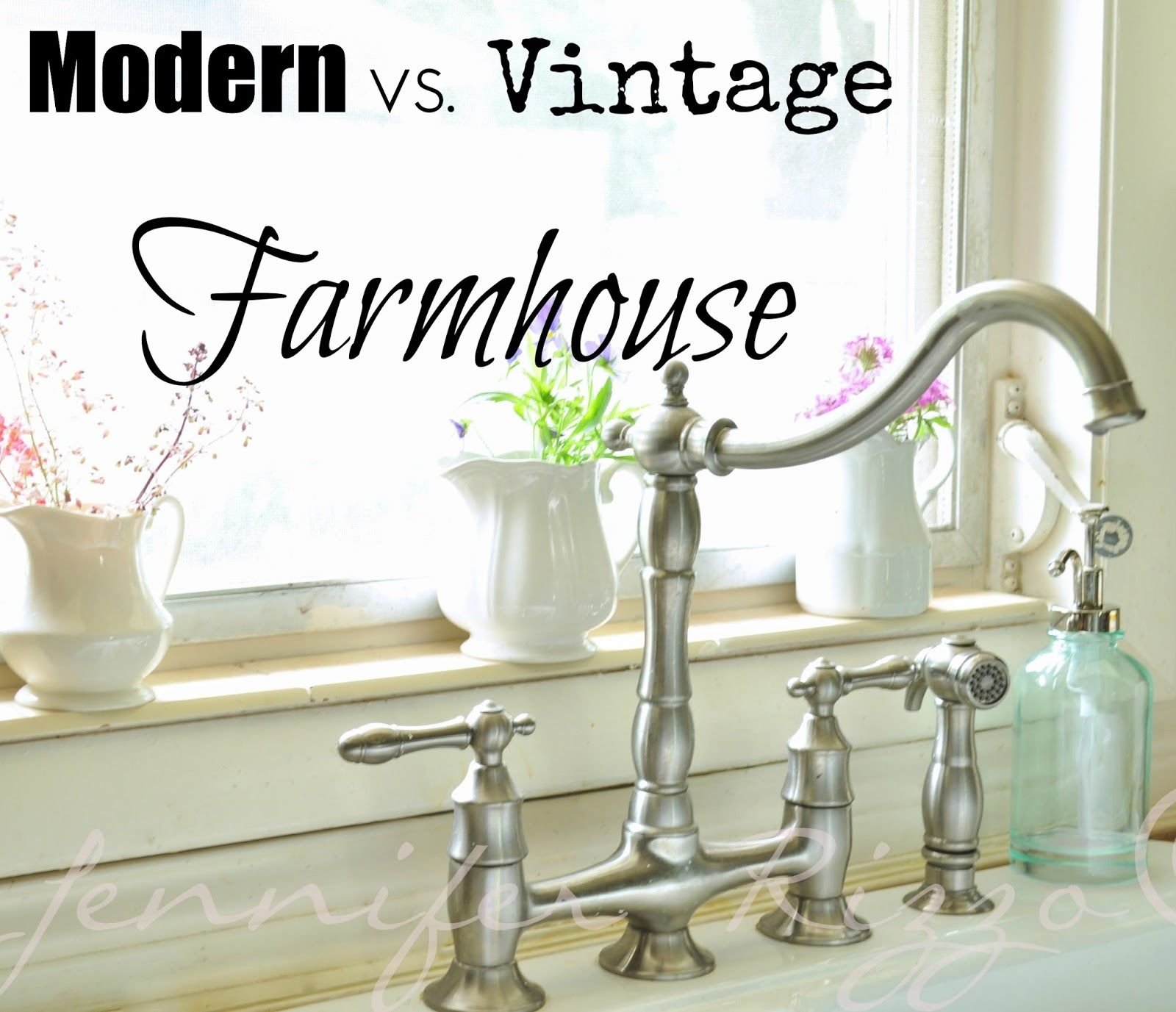 The difference between Modern vs. Vintage Farmhouse