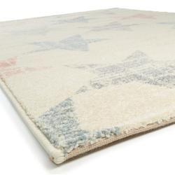 Photo of benuta Tappeto per bambini Justin Beige / Multicolor 200×290 cm – tappeto con stelle benuta