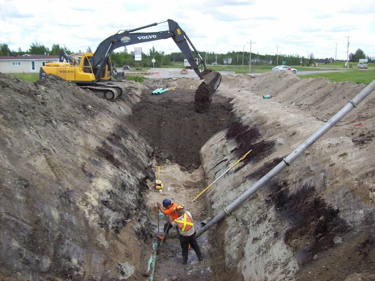 The OSHA regulations must be followed during excavation