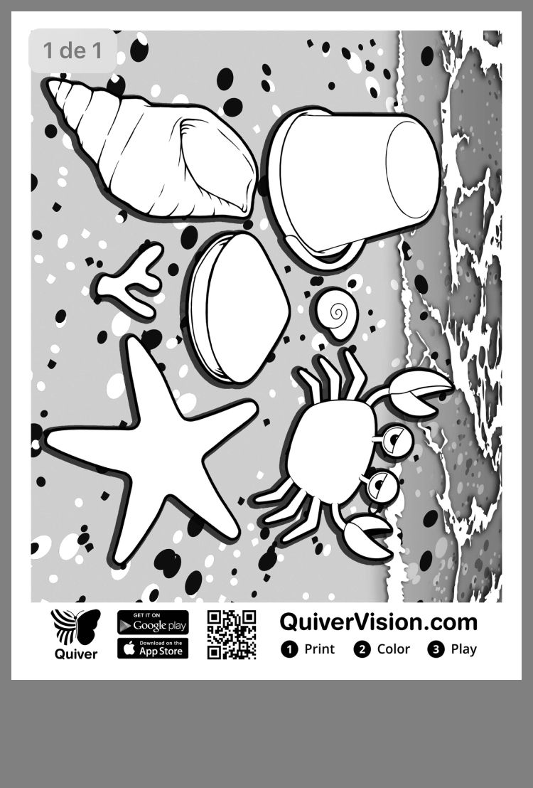 Pin By Adriana Exposito Diaz On Quiver Coloring Pages Augmented Reality Color Activities