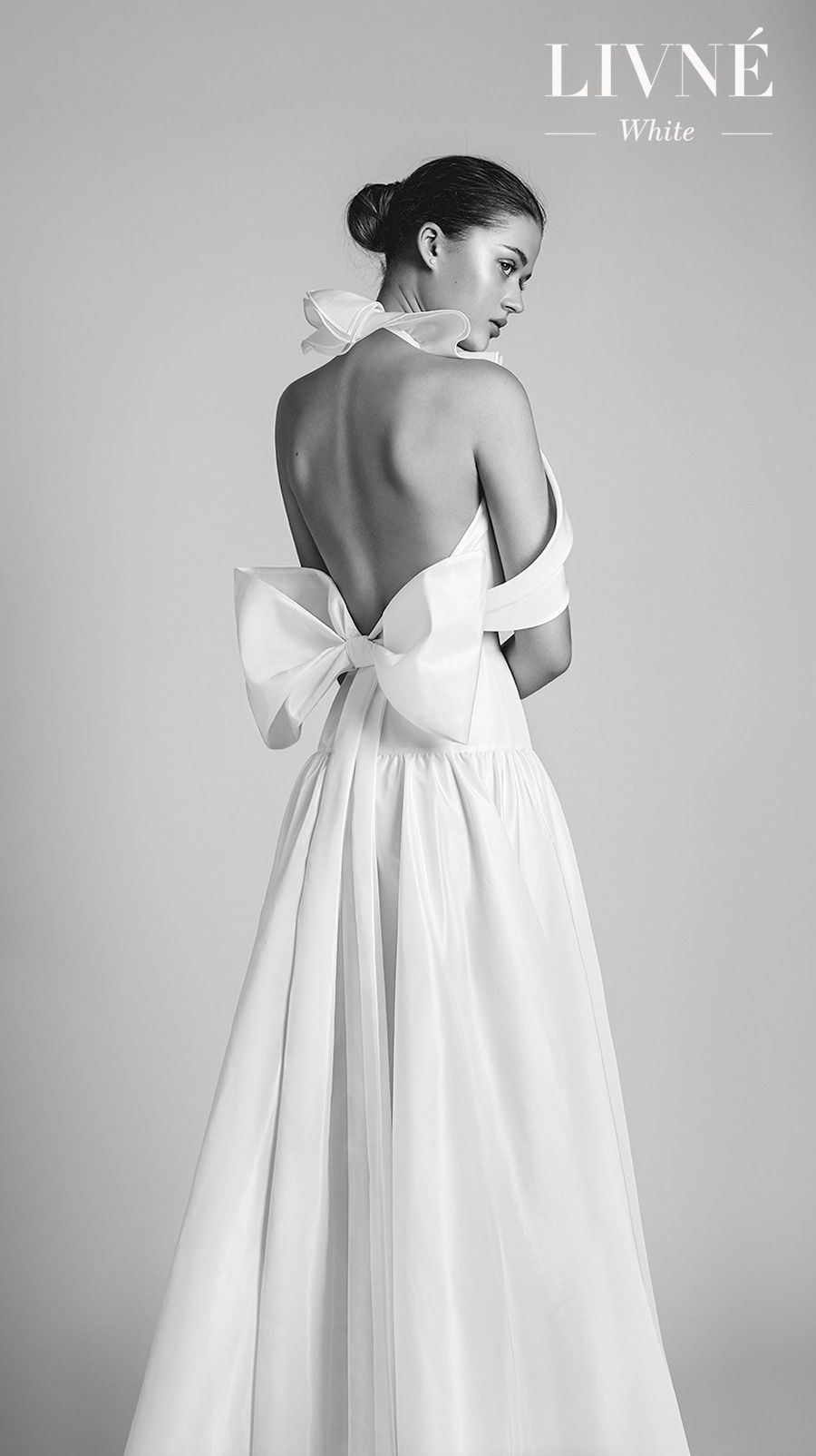 Livné white wedding dresses are perfect for the modern bride in