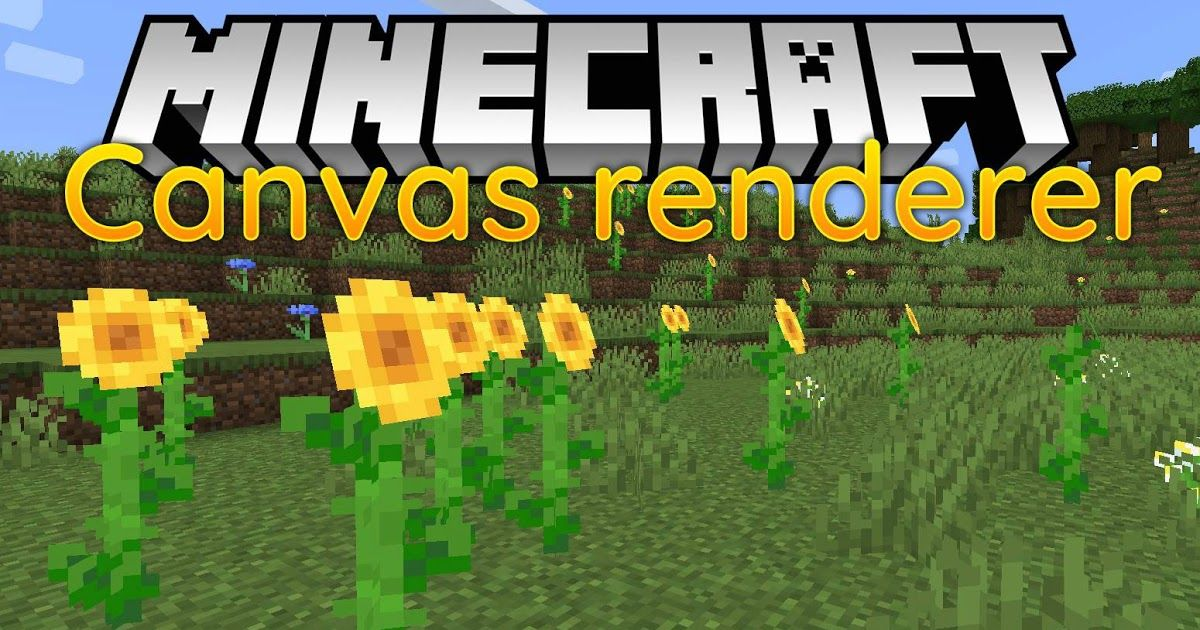 Canvas Renderer Mod 1 14 4 Is A Rendering Library For Fabric Mods That Offers Visual Improvements For Player Minecraft Multiplayer Minecraft Web Minecraft Mods