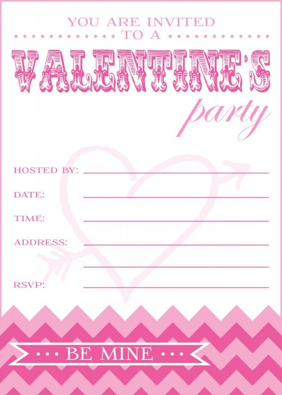 Page 1 Catch My Party Valentine Invitations Valentine Party Invitations Free Birthday Invitation Templates