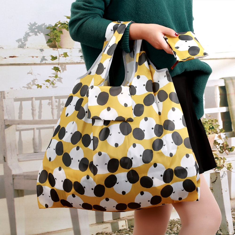 Cute Lady Foldable Recycle Bag Eco