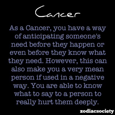 Cancer hookup cancer astrology personality traits