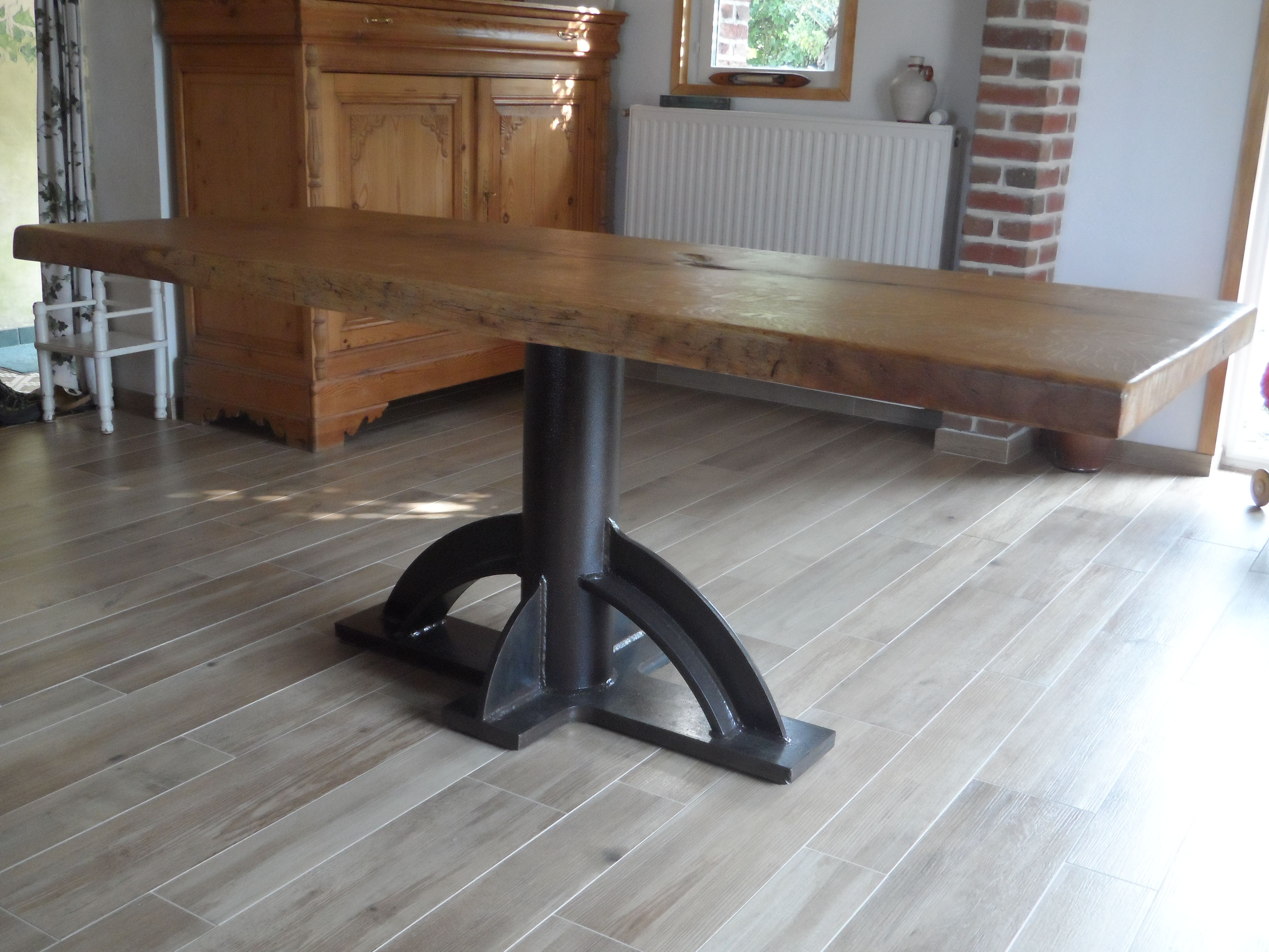 Max Des Bois Ebeniste Restaurateur Et Createur De Mobilier Table Chene Massif Mobilier De Salon Mobilier