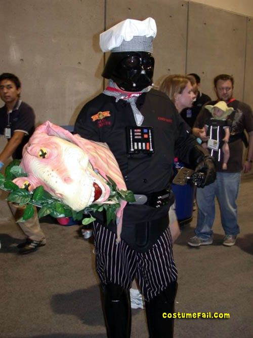 Darth Vader Chef Costume