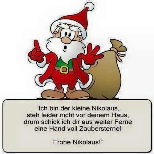 Euch Allen Einen Schonen Nikolaus Tag Schonen Nikolaus Nikolaus Bilder Gedicht Weihnachten