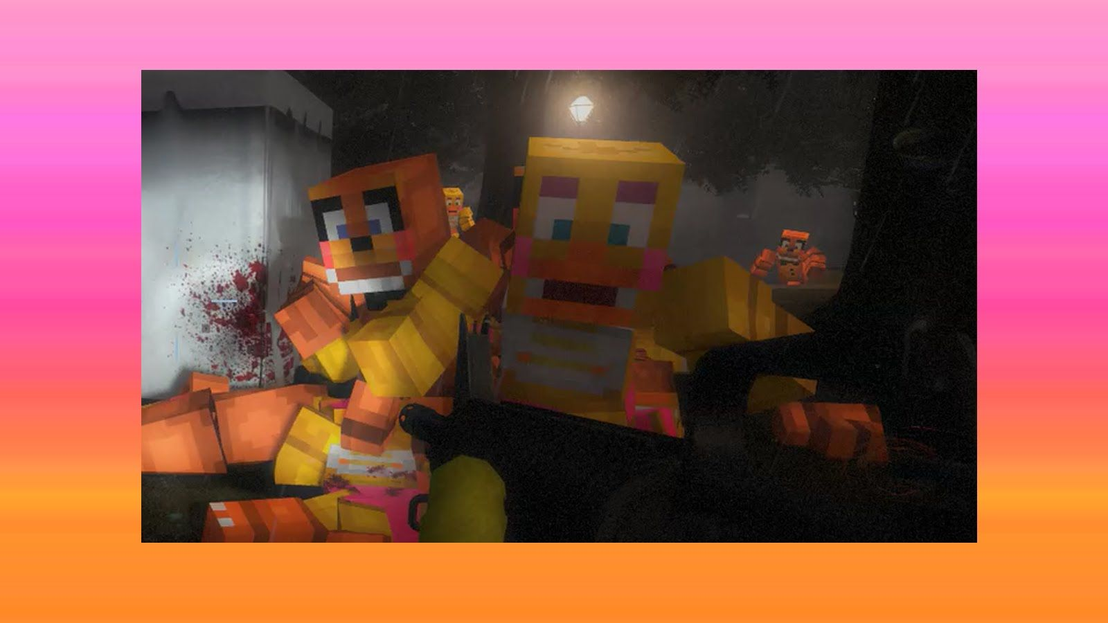 FNAF Mod - Minecraft Zombie - Left 4 Dead 2 (Five Nights at Freddy's