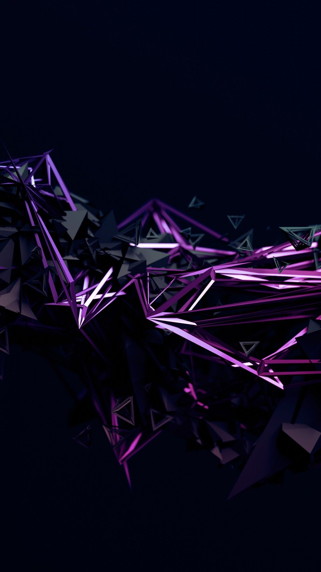 Geometric Dark Hd Wallpaper Android in 2020 (With images