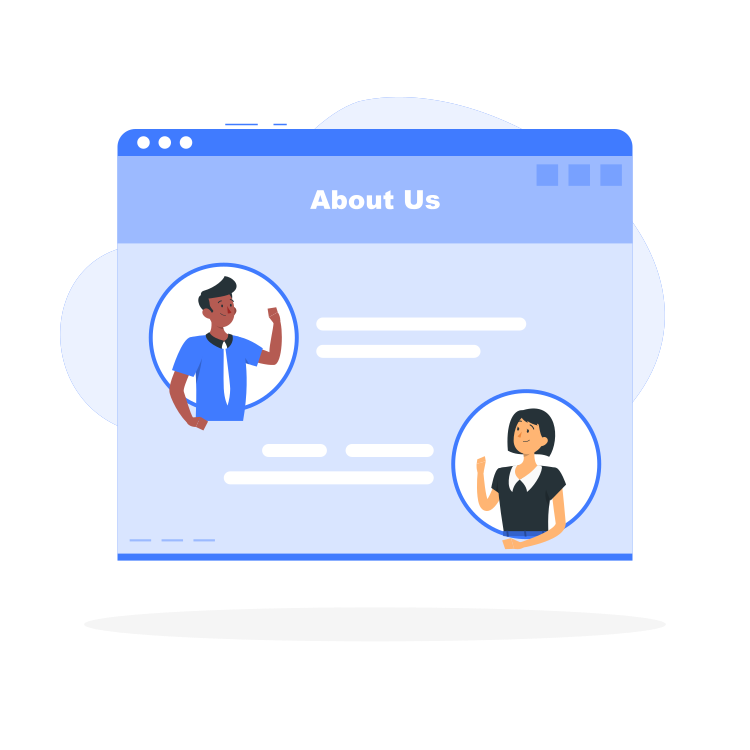 About Us Page By Freepik Stories Svg Png Illustration Business Marketing Information Organization Website About Us Page Website Illustration This Is Us