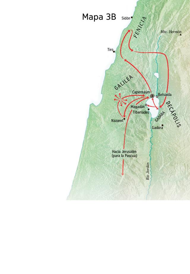 Jesús En El Mar De Galilea Y Capernaúm Tabla Y Mapa Tnm Mar De Galilea Estudios Bíblicos Biblia Imagen