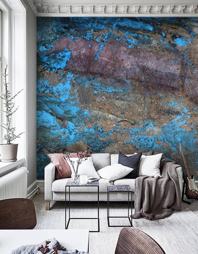 Wallpaper Vinylold Painted Wood Texture Large Photo Wall Etsy Painted Wood Texture Painting On Wood Wood Texture