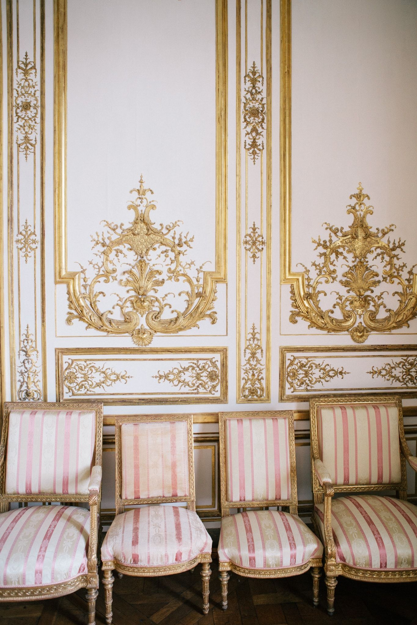 Chaise quartet from the ch teau de chantilly la vie for Chateau de la chaise