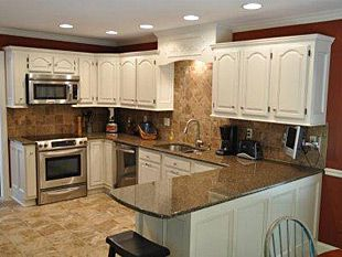 Interior Kitchen Cabinets Refinished cool awesome refinish kitchen cabinets 18 in small home remodel ideas with cabinets