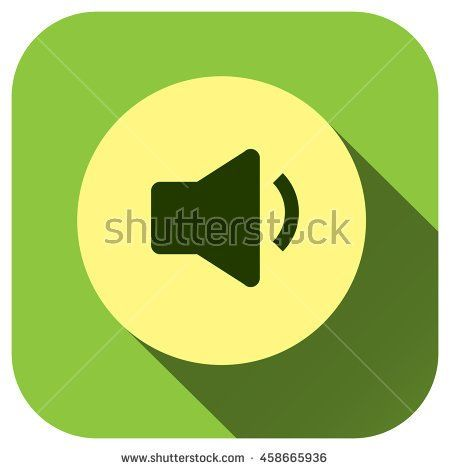Sound Vector Icon Megaphone Symbol For Your Design Logo
