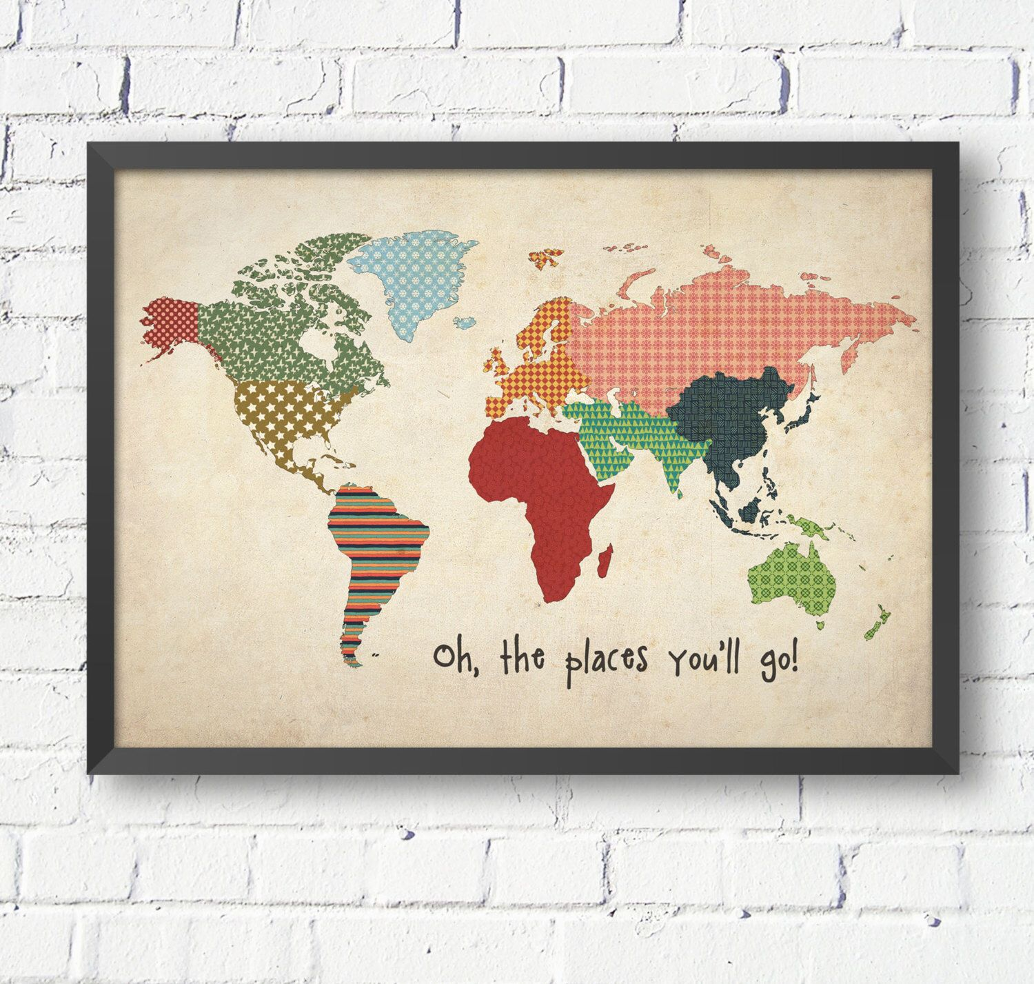 Vintage world map world map poster size a1 a2 a3 a4 world map for vintage world map world map poster size a1 a2 a3 a4 world map for kids nursery decor kids room ideas by modernkidsgallery on etsy gumiabroncs Choice Image