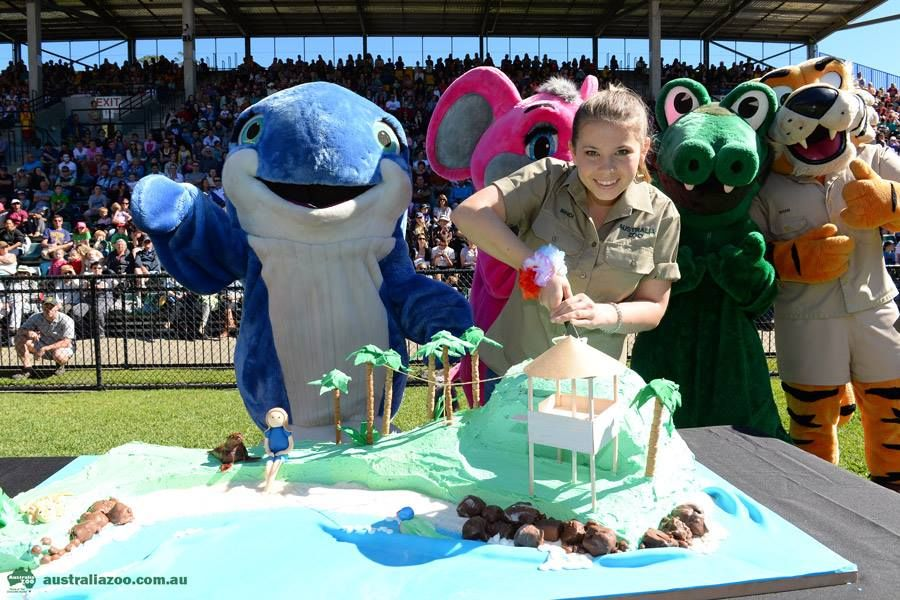 Bindi Irwin's 15th Birthday Cake | CAKES - Celebrity's | 15th birthday cakes, Bindi irwin, Steve ...