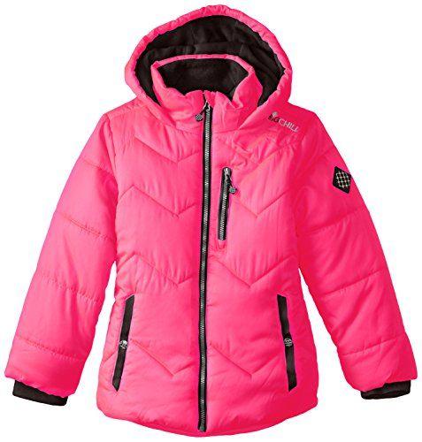 Big Chill Big Girls  Fleece-Lined Puffer Coat