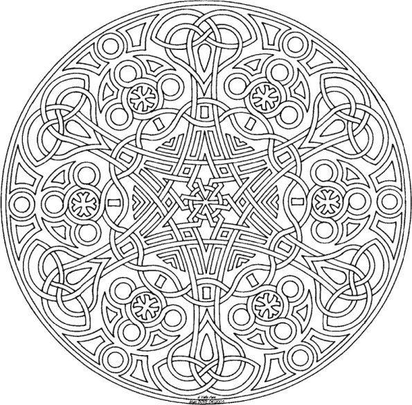 mandalas celtas 32 mandalas para colorear y relajarse   Buscar con