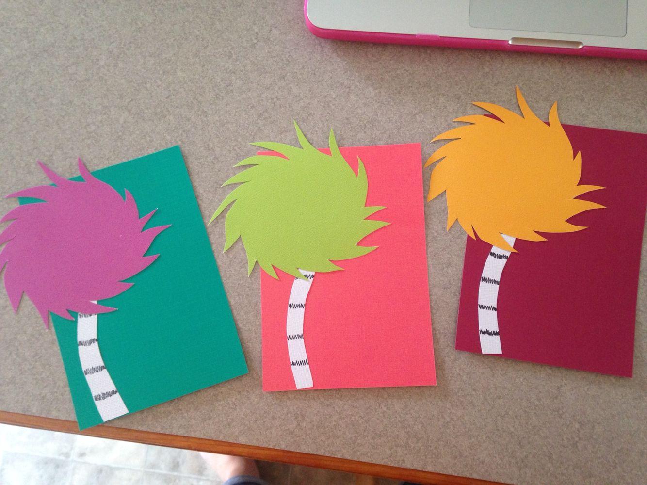 Truffula tree door decs & Truffula tree door decs | Dr. Seuss Theme | Pinterest | Door decs ... pezcame.com