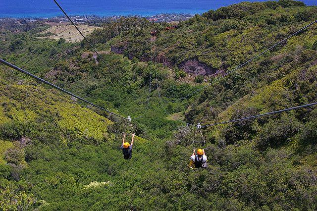 Scott Aaron At Kapalua Zipline 5 Maui Dream Cruise Vacation Spots Hawaii Vacation