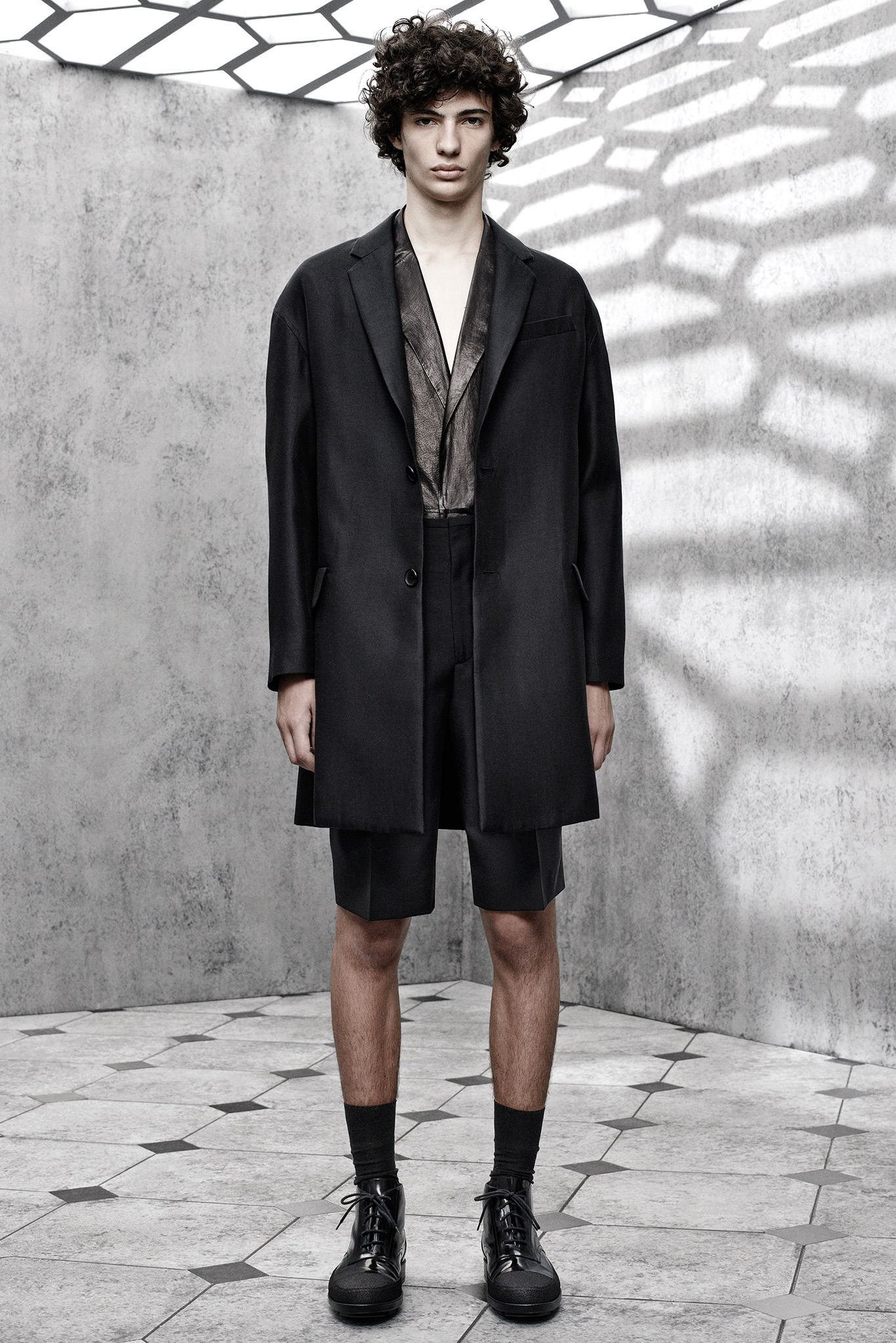 low cost cute cheap elegant shoes Balenciaga Spring 2015 Menswear - Collection - Gallery ...