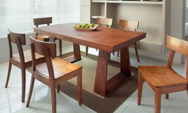 Comedor moderno madera | Comedores Nidito en 2019 | Dining table in ...