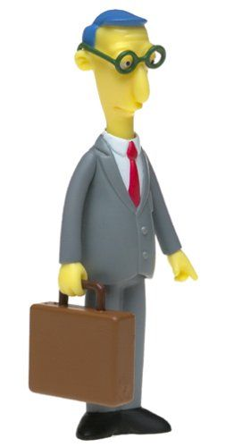 The Simpsons Series 11 Action Figure Blue Haired Lawyer By