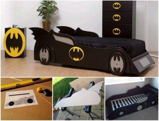 Diy Batmobile Bed Kids Bedroom Dream Kid Beds Batman Bed