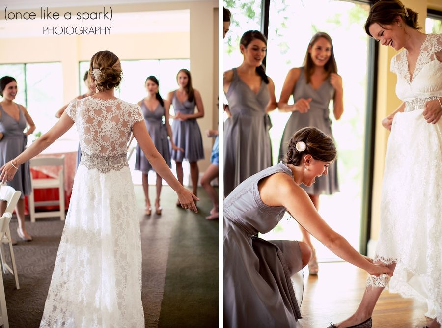 Real bride Brittany in the Claire Pettibone 'Brigitte' wedding dress via Kelly's Closet http://www.clairepettibone.com/bridal/?cp=gowns/brigitte   Photo: Once Like A Spark Photography