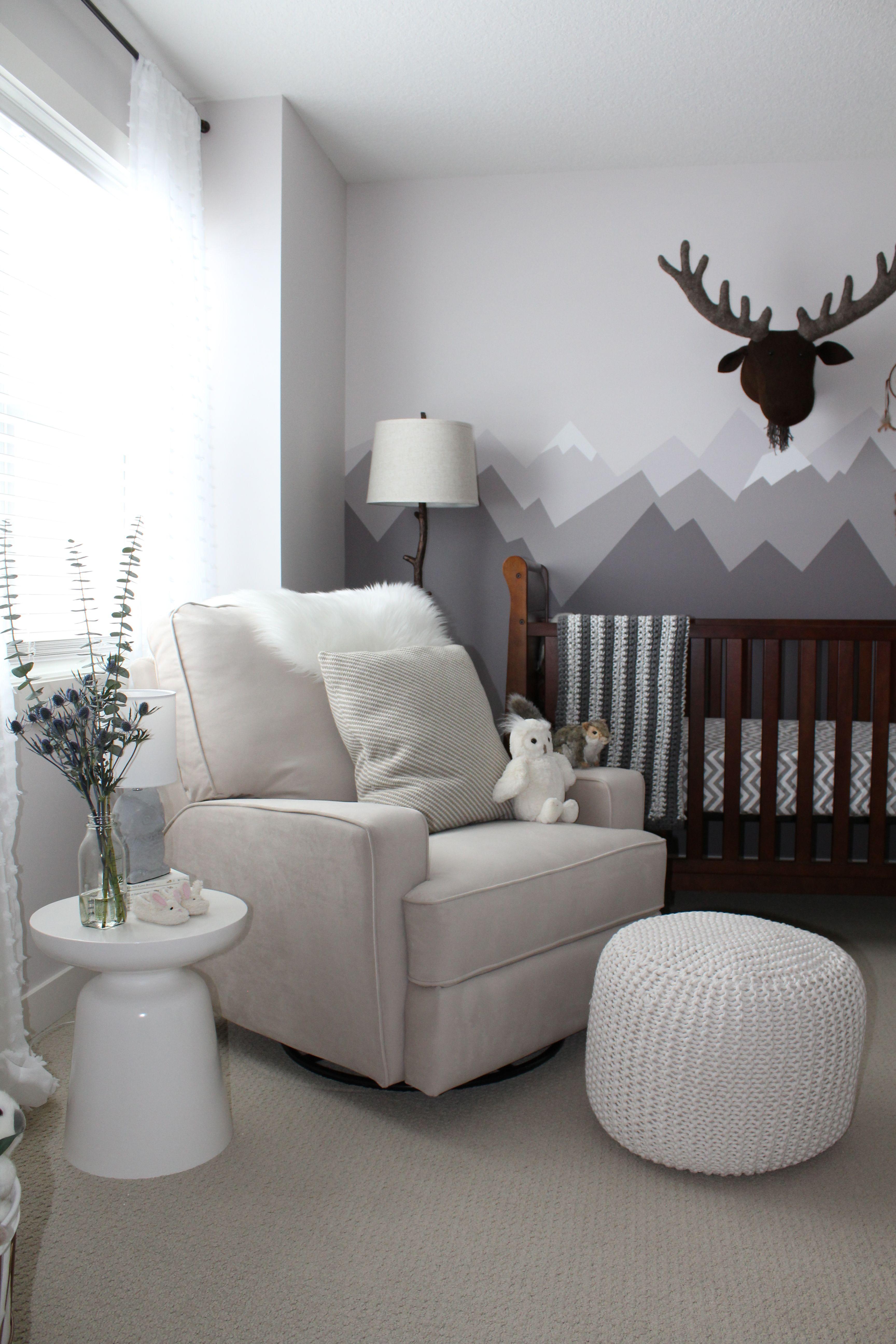 Client Reveal Rocky Mountain Nursery Deco Chambre Bebe Theme