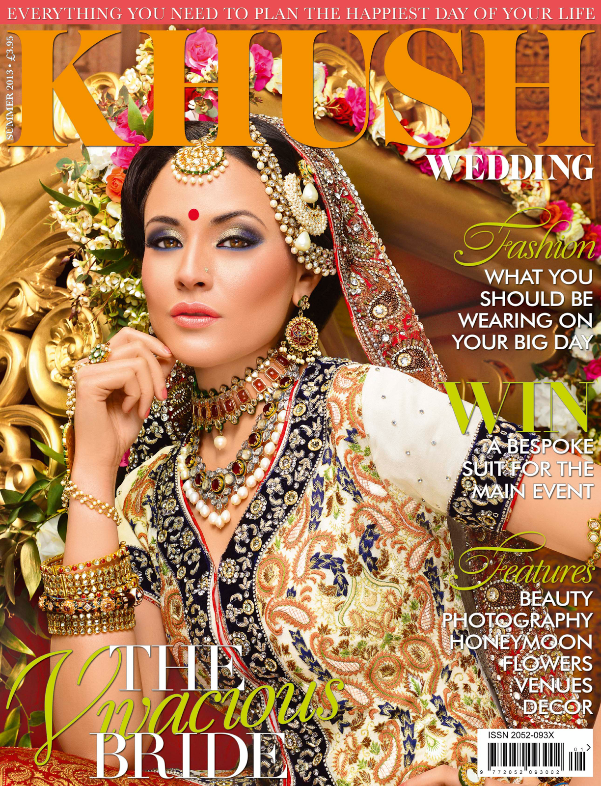 wedding magazines Asian Fashion Blog Khush Wedding Magazine First Issue Summer