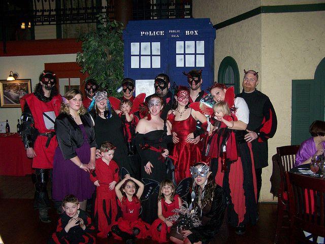 Fairy wedding party