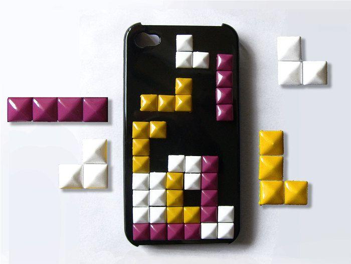 tetris in cellphone
