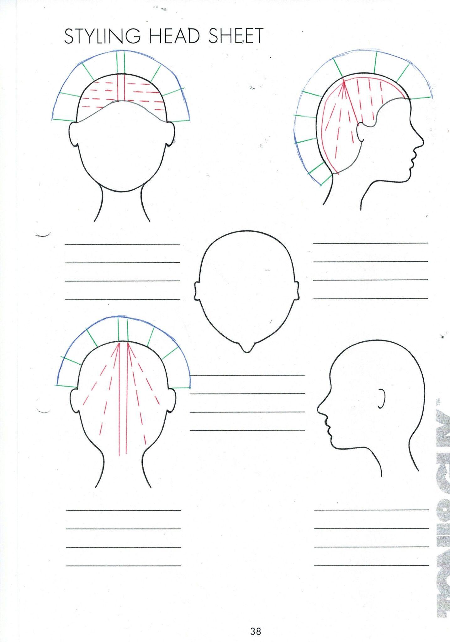 Round Layers  Hair illustration, Toni and guy, Diagonal forward