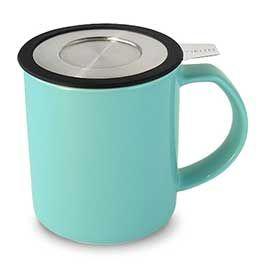 WholeLeaf Brew-in-Mug with Infuser & Lid